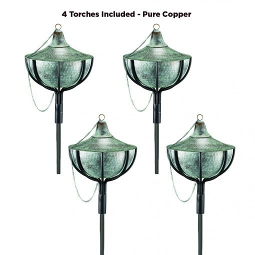 Good Directions Large Torch - Blue Verde Copper - Case Pack of 4