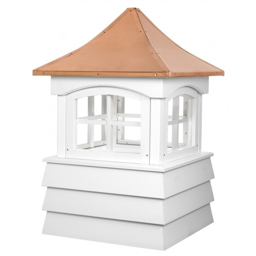 Guilford Vinyl Cupola with Copper Roof