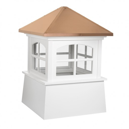 Huntington Vinyl Cupola with Copper Roof