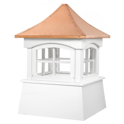 Windsor Vinyl Cupola with Copper Roof
