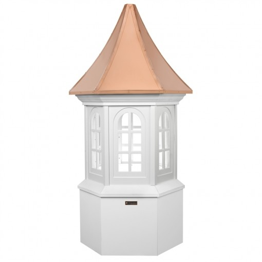 Smithsonian Georgetown Vinyl Cupola with Copper Roof