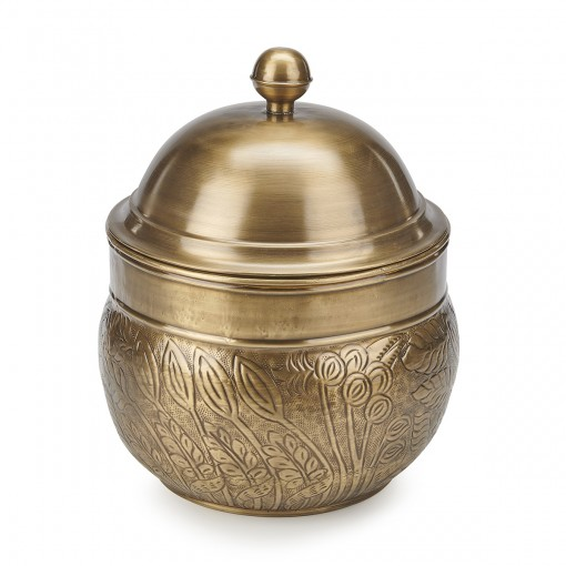 Good Directions Brass Key West Hose Pot with Lid