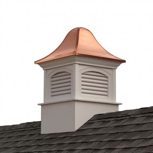 Fairfield Vinyl Cupola with Copper Roof