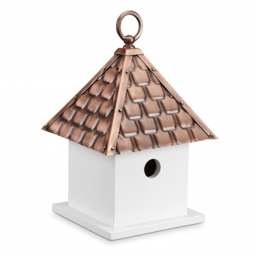 Good Directions Bird House Bungalow – Pure Copper Roof