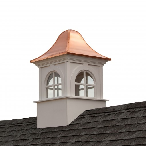 """Good Directions Smithsonian Washington Vinyl Cupola with Copper Roof 48"""" x 79"""""""