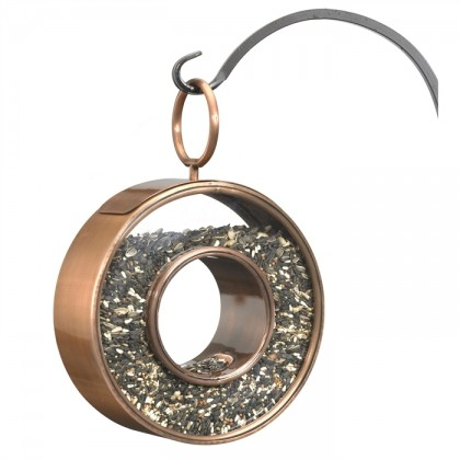 Circle Fly-Thru Bird Feeder