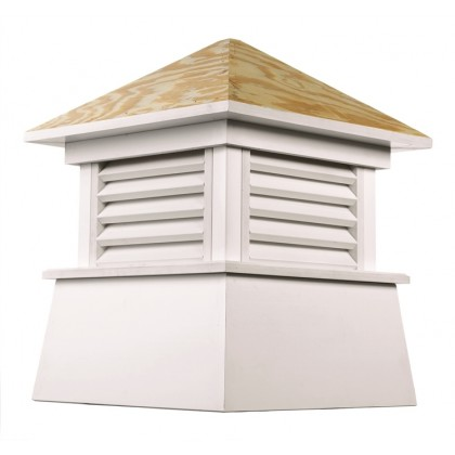 Kent Vinyl Cupola with Wood Roof