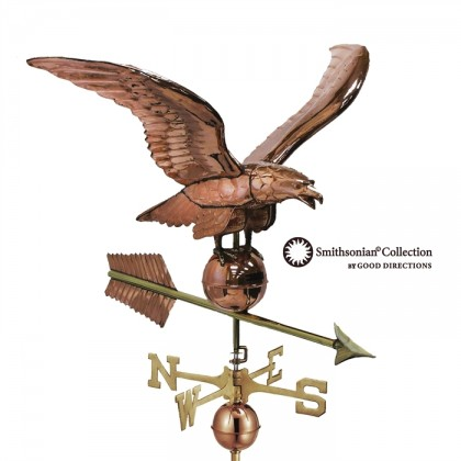Smithsonian Eagle Estate Weathervane 34""