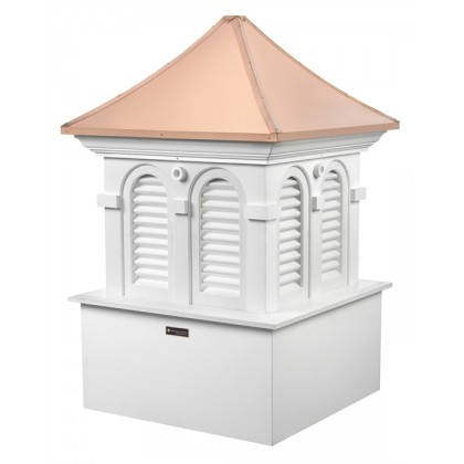 Smithsonian Alexandria Vinyl Cupola with Copper Roof