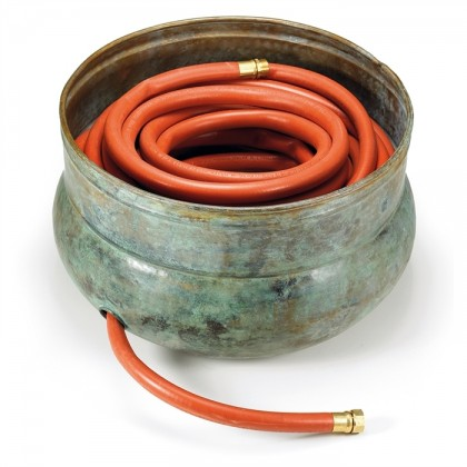 Sonoma Hose Pot - Blue Verde Brass