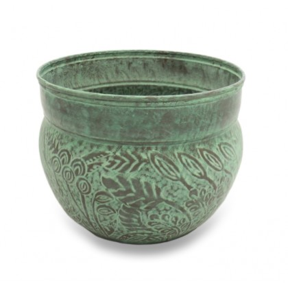 Key West Hose Pot - Blue Verde