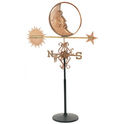 Black Cast Iron Weathervane Display Base