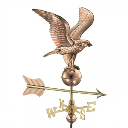 Eagle Cottage Weathervane with Roof Mount