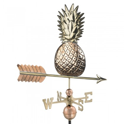 Good Directions Pineapple Weathervane - Pure Copper