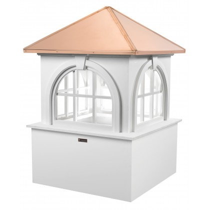 """Good Directions Smithsonian Arlington Vinyl Cupola with Copper Roof 60"""" x 88"""""""