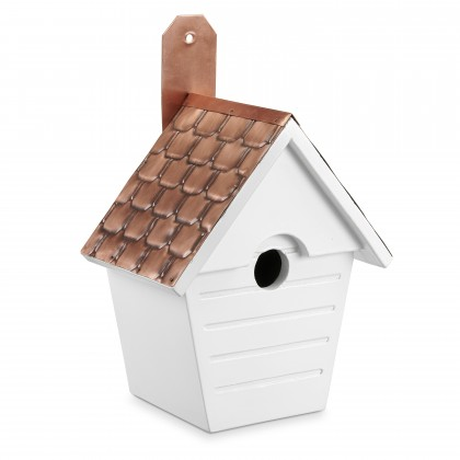 Good Directions Classic Cottage Bird House  – Pure Copper Roof