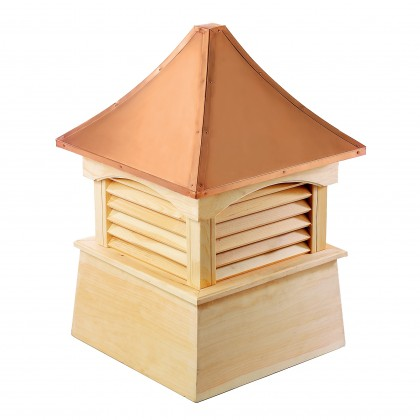"""Good Directions Coventry Wood Cupola with Copper Roof 42"""" x 57"""""""