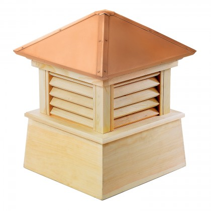 """Good Directions Manchester Wood Cupola with Copper Roof 84"""" x 105"""""""