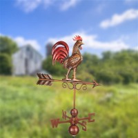 Bantam Red Rooster Weathervane