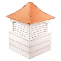 Sherwood Vinyl Cupola with Copper Roof