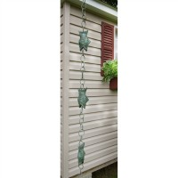 Fish Pure Copper 8.5 ft. Rain Chain