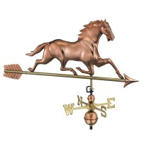 Horse Weathervane with Arrow