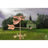 Angel Garden Weathervane with Garden Pole