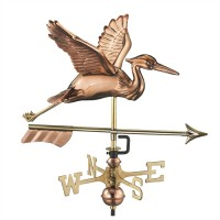 Blue Heron with Arrow Garden Weathervane with Garden Pole