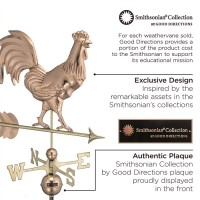 Smithsonian Rooster Weathervane