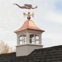 Greenwich Vinyl Cupola with Copper Roof