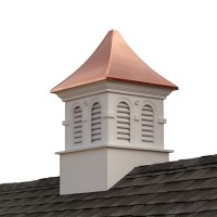 Smithsonian Columbia Vinyl Cupola with Copper Roof