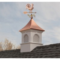 Smithsonian Newington Vinyl Cupola with Copper Roof