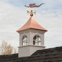 Smithsonian Fairfax Vinyl Cupola with Copper Roof