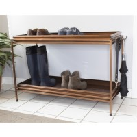 Double Circles Boot Tray with Stand