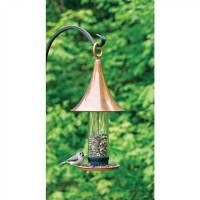Castella Bird Feeder - Polished Copper